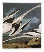 Tropic Bird Fleece Blanket