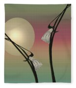 Tropic Mood Fleece Blanket