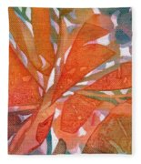 Tropical #5 Fleece Blanket