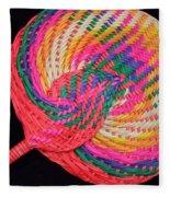 Tropical Air Conditioner Fleece Blanket