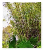 Tropical Bamboo Fleece Blanket