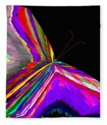 Tropical Butterfly Fleece Blanket