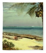 Tropical Coast Fleece Blanket