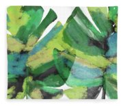 Tropical Dreams 1- Art By Linda Woods Fleece Blanket