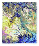 Tropical Essence Fleece Blanket