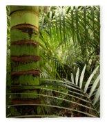 Tropical Forest Jungle Fleece Blanket