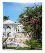Tropical Garden Fleece Blanket