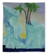 Tropical Getaway Fleece Blanket