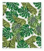 Tropical Haven  Fleece Blanket