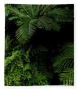 Tropical Jungle Fleece Blanket