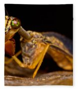 Tropical Mantispid Fleece Blanket