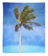 Tropical Palm Tree Fleece Blanket