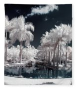Tropical Paradise Infrared Fleece Blanket