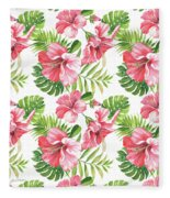 Tropical Paradise-jp3962 Fleece Blanket