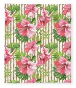Tropical Paradise-jp3964 Fleece Blanket