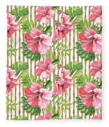Tropical Paradise-jp3964 Fleece Blanket