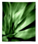 Tropical Plant Fleece Blanket