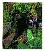 Tropical Rainforest Fleece Blanket