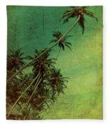 Tropical Vestige Fleece Blanket