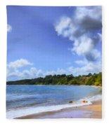 Tropical Waters Fleece Blanket