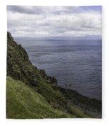 Trotternish Landscape Fleece Blanket