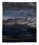 Troubled Waters Fleece Blanket