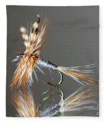 Trout Fly 2 Fleece Blanket