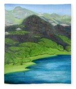 Trout Lake North Fleece Blanket