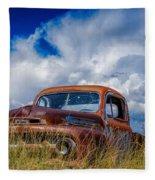 Truck Heaven Fleece Blanket