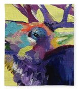 Trumpeting Fleece Blanket
