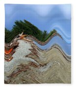 Tsunami Fleece Blanket