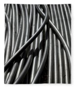 Tubular Abstract Art Number 13 Fleece Blanket
