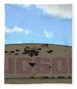 Tucson Hangar Fleece Blanket