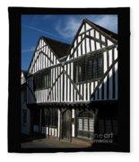 Tudor Timber Fleece Blanket
