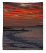 Tuesday Sunrise Fleece Blanket