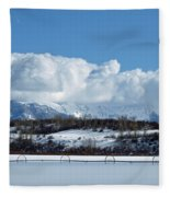 Tuff Over Baldy Fleece Blanket