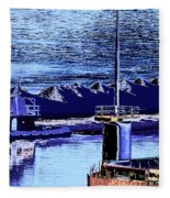 Tug Reflections Fleece Blanket