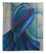 Tui Bird 3 Fleece Blanket