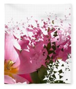 Tulip Blast Fleece Blanket