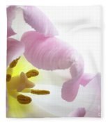 Tulip Bloom Fleece Blanket