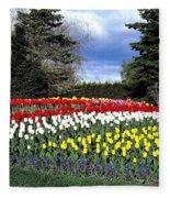 Tulip Country Fleece Blanket