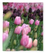 Tulip Dreams Fleece Blanket