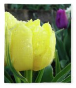 Tulip Flowers Artwork Tulips Art Prints 10 Floral Art Gardens Baslee Troutman Fleece Blanket