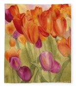 Tulip Glory Fleece Blanket