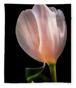 Tulip In Light Fleece Blanket