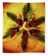 Tulip Macro Fleece Blanket