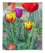 Tulip Mixture Fleece Blanket