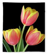 Tulip Passion Fleece Blanket