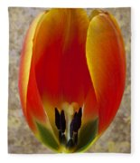 Tulip Petals Fleece Blanket