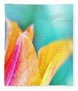 Tulip Tips Fleece Blanket